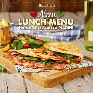 Ham Mozzarella Piadina