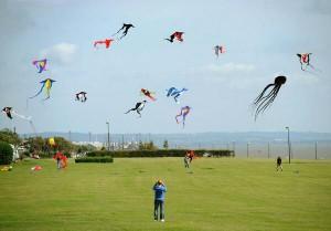 Otterspool - Kites - Liverpool