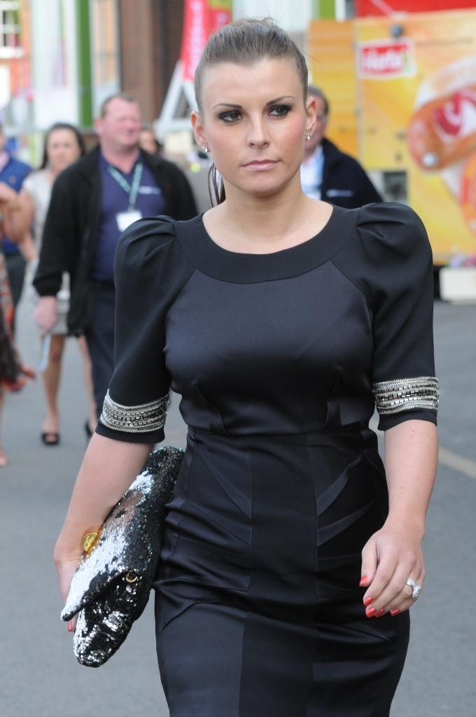 The Queen of Ladies Day, Coleen Rooney. Photo. Bond Media Agency