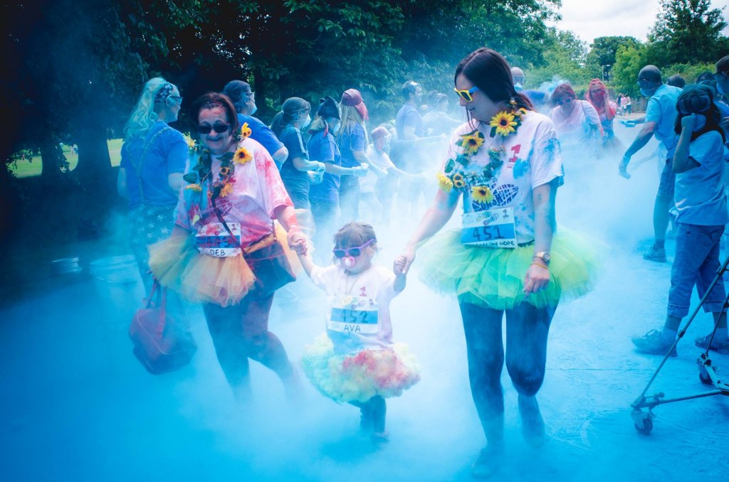 The Guide Liverpool Claire House Hospice Splash Dash