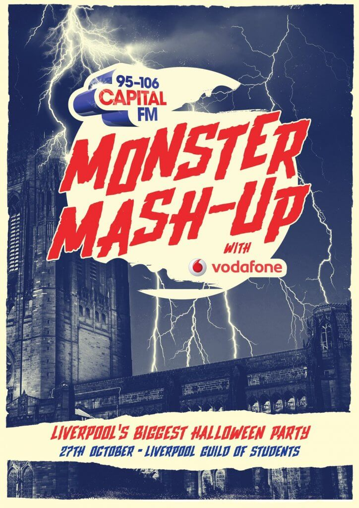 The Guide Liverpool Capital FM Monster Mash up October in Liverpool