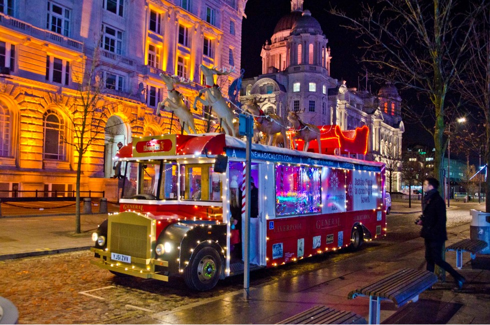 The Guide Liverpool - The Santa Bus