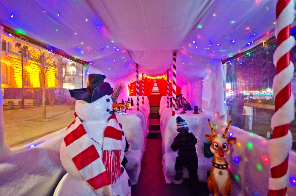 The Santa Bus