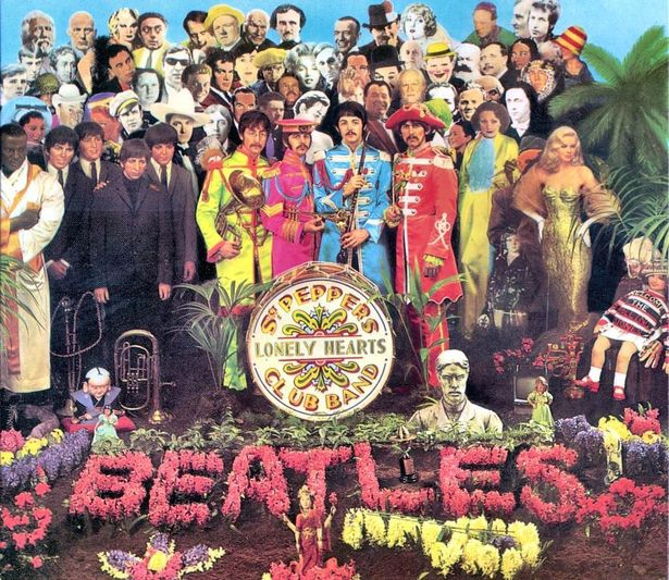 Beatles Sgt Peppers Lonely Heart Band
