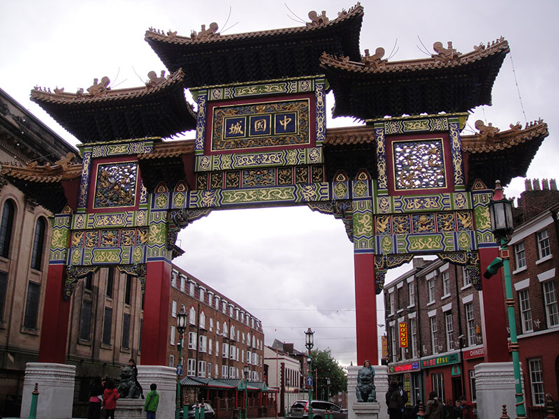 The Guide Liverpool china-town-gate
