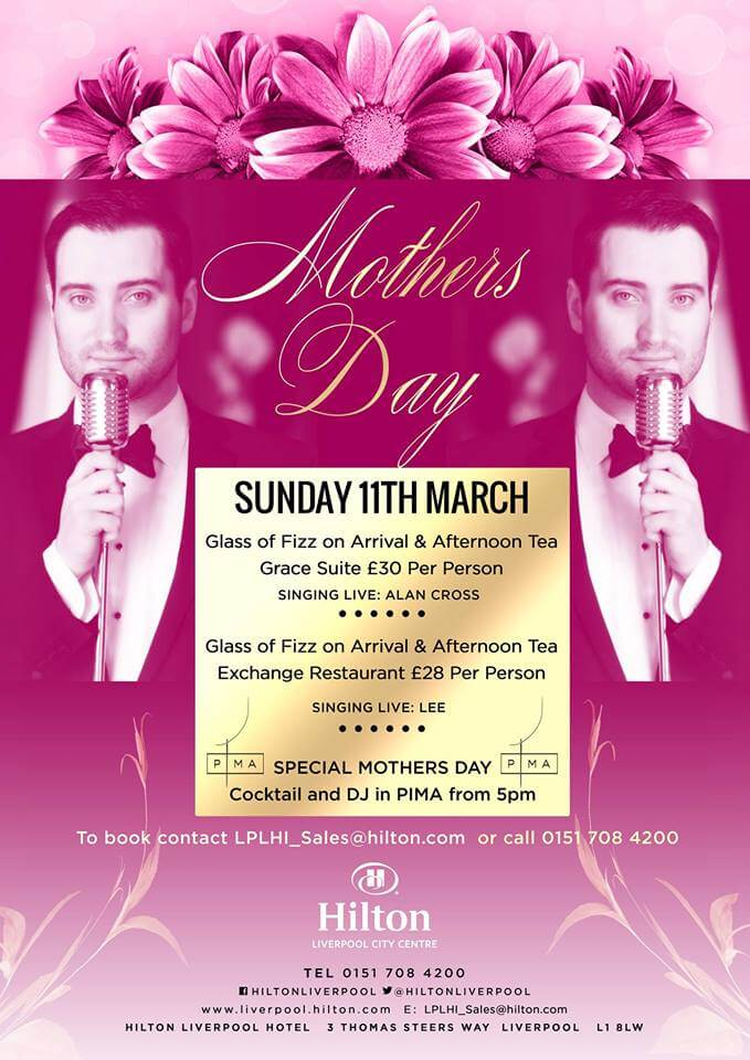 Mother's Day in Liverpool