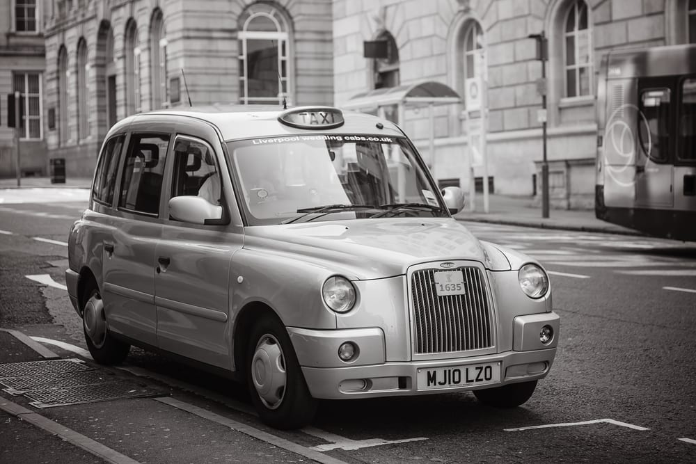 Liverpool Black Taxi Cab