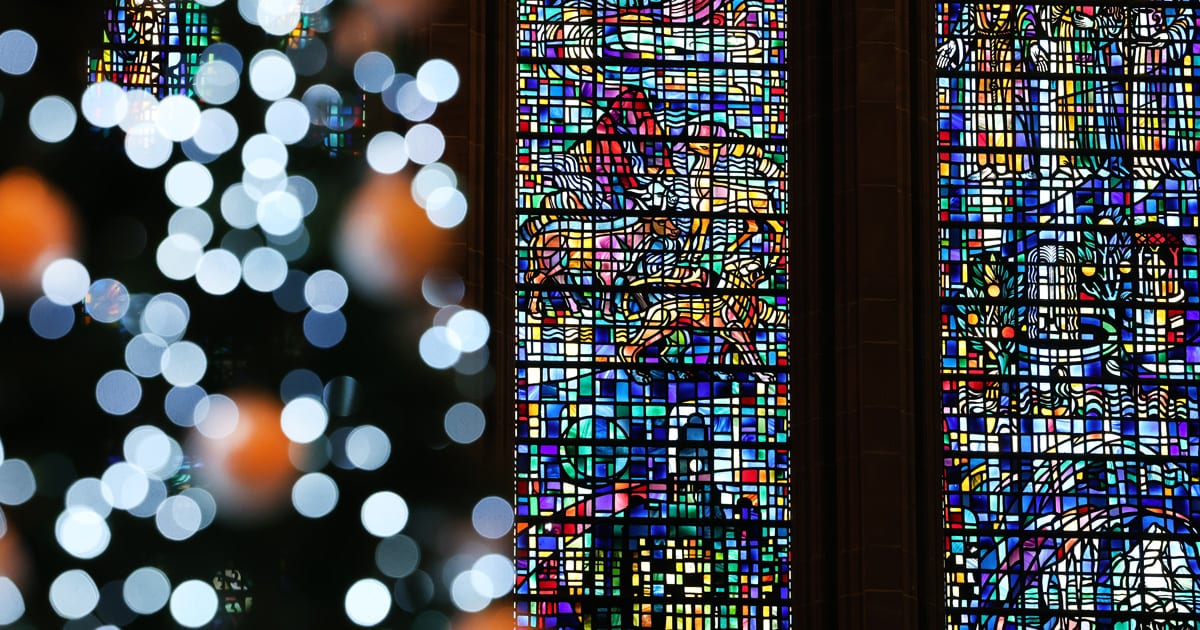 CHRISTMAS lIVERPOOL CATHEDRAL
