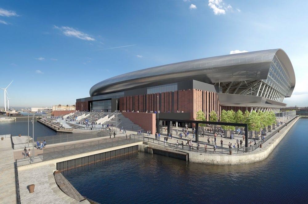 Everton's new Bramley-Moore More Dock stadium